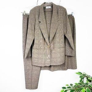 3 Piece Women's Jacket Skirt & Pant Suit Set